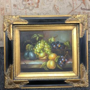 STILL LIFE WITH CLASSIC FRAME